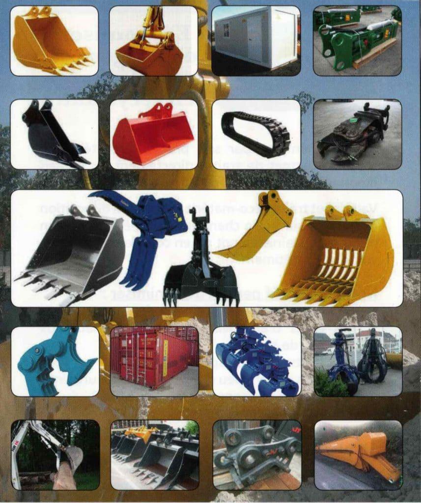 Import Export accessoires btp